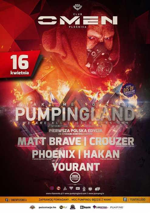 Omen (Płośnica) - Pumpingland  (16.04.2017) - kluby, festiwale, plenery, klubowa muza, disco polo