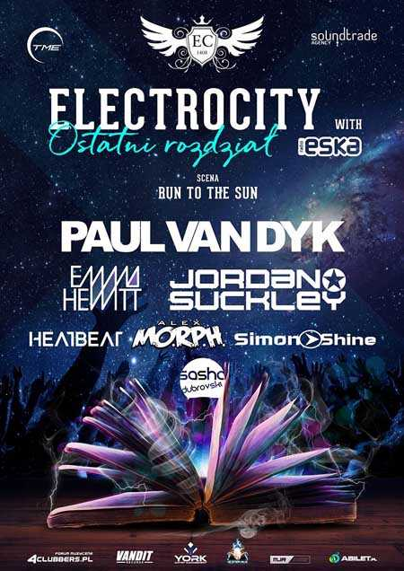 Electrocity Festival 2017 - Lineup sceny RUN TO THE SUN - kluby, festiwale, plenery, klubowa muza, disco polo