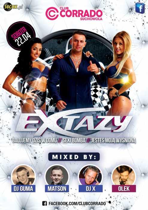 Corrado (Suchowola) - KONCERT  EXTAZY (22.04.2017) - kluby, festiwale, plenery, klubowa muza, disco polo