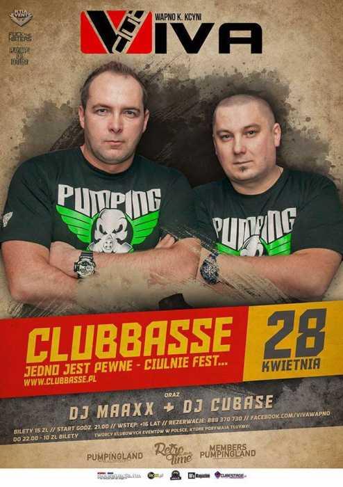 Viva (Wapno) - Clubbasse (28.04.2017) - kluby, festiwale, plenery, klubowa muza, disco polo