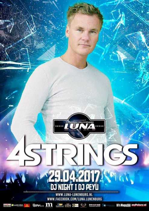 Luna (Lunenburg) - DJ 4 Strings (29.04.2017) - kluby, festiwale, plenery, klubowa muza, disco polo