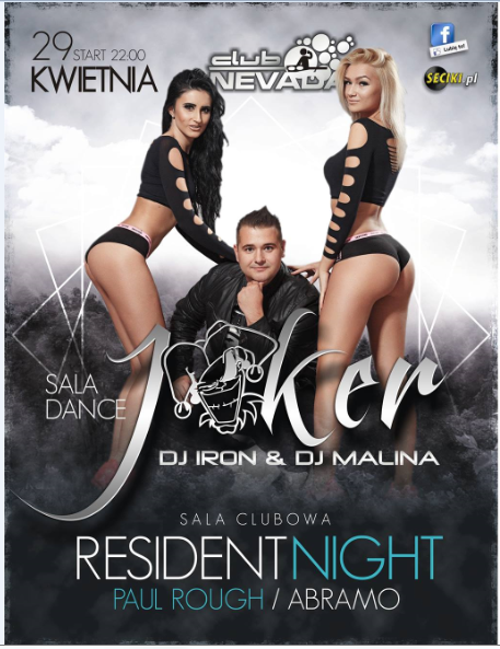 Klub Nevada Nur - Joker & Resident Night (29.04.2017)
