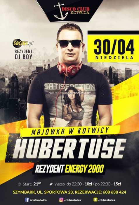 Club Kotwica (Szymbark) -  DJ Hubertuse (30.04.2017) - kluby, festiwale, plenery, klubowa muza, disco polo