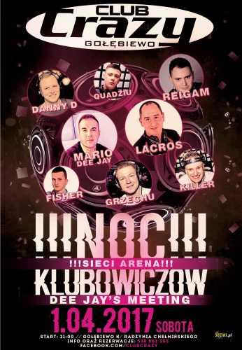Crazy Club (Gołębiewo) - NOC KLUBOWICZÓW (01.04.17)