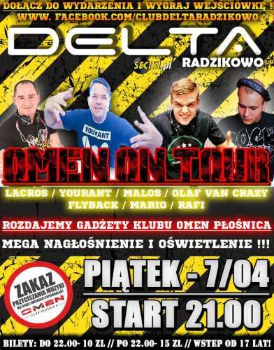 Delta (Radzikowo) - Omen On Tour (07.04.2017)