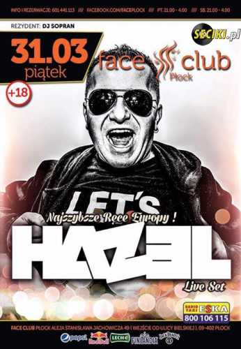 Face Club (Płock) - Dj Sopran (31.03.2017)