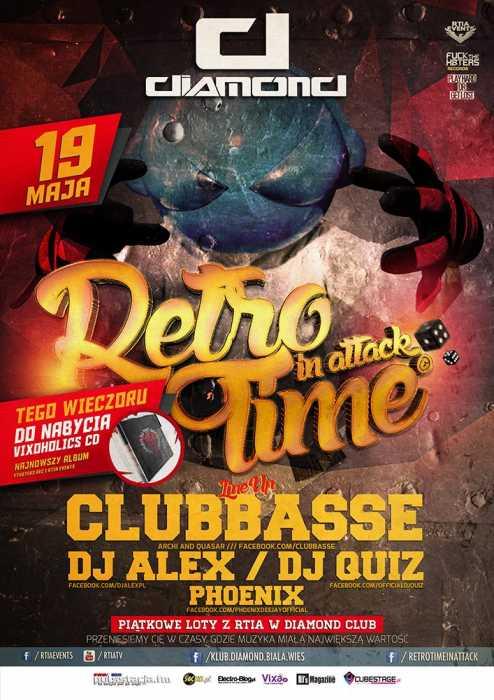 Diamond (Biała Wieś) - Retro Time In Attack (19.05.2017) - kluby, festiwale, plenery, klubowa muza, disco polo
