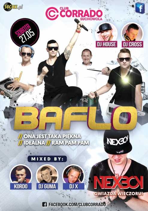 Corrado (Suchowola) - Zespół BAFLO (27.05.2017) - kluby, festiwale, plenery, klubowa muza, disco polo