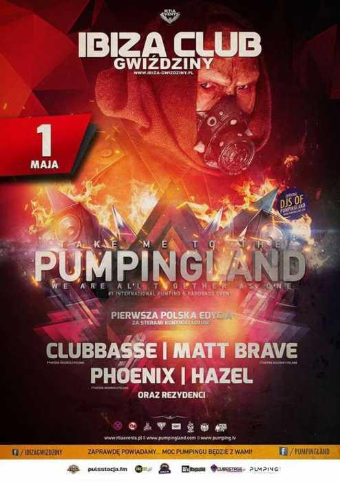 Klub Pumpingland, Ibiza - Najnowsze Sety