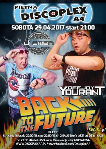 Discoplex A4 (Pietna) - Back To The Future (29.04.2017)