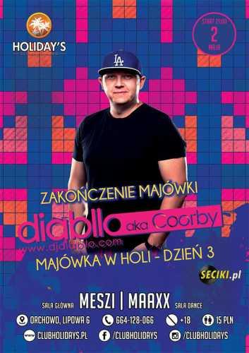 Holidays (Orchowo) - Dj Maaxx (02.05.2017)