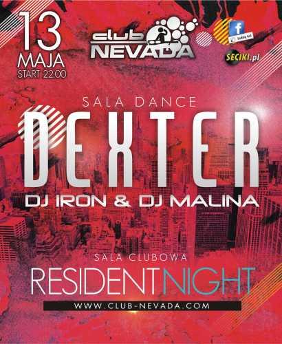 Klub Nevada Nur - Dexter (13.05.2017)