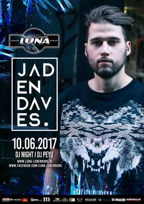 Luna (Lunenburg) - Jaden Daves (10.06.2017) - kluby, festiwale, plenery, klubowa muza, disco polo
