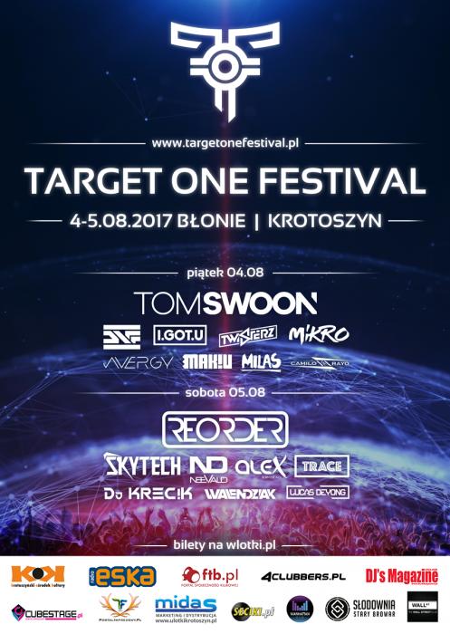 Target One Festival - Błonie/Krotoszyn (4-5.08.2017) - kluby, festiwale, plenery, klubowa muza, disco polo
