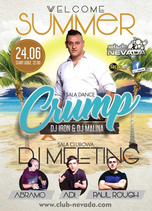 Klub Nevada Nur - Crump & Dj's Meeting (24.06.2017) - kluby, festiwale, plenery, klubowa muza, disco polo