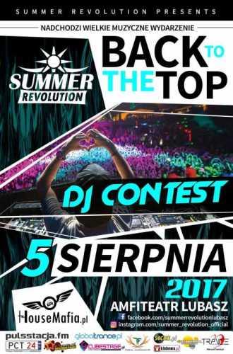 Zwycięzca DJ Contest  Summer Revolution  (01.05.17)