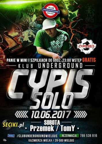 Klub Underground (Wielgus) - CYPIS  (10.06.2017)