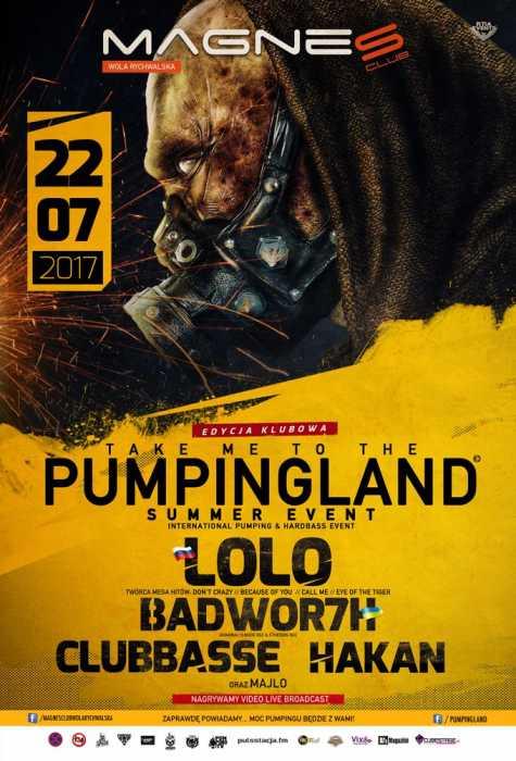Magnes Wola Rychwalska - Pumpingland (22.07.2017) - kluby, festiwale, plenery, klubowa muza, disco polo