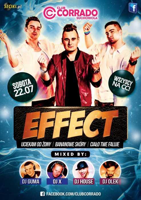 Corrado (Suchowola) - Zespół Effect (22.07.2017) - kluby, festiwale, plenery, klubowa muza, disco polo