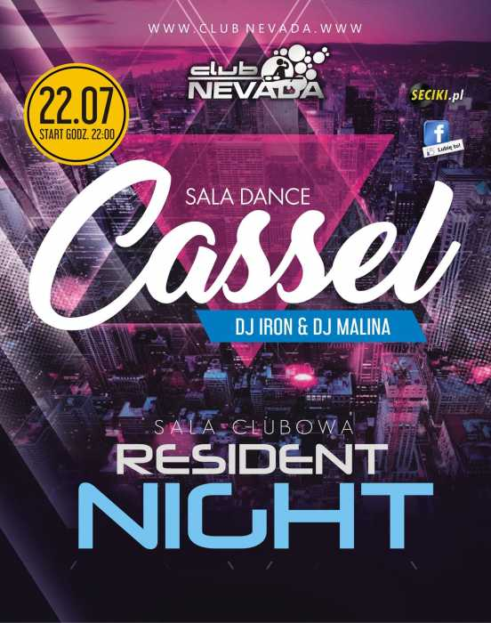 Klub Nevada Nur - Cassel & Resident Night  (22.07.2017)