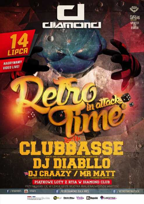 Klub Retro Time In Attack, Video Live Mix  - Najnowsze Sety