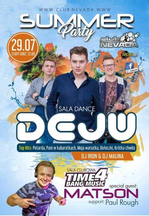 Klub Nevada Nur - Dejw & Matson (29.07.2017) - kluby, festiwale, plenery, klubowa muza, disco polo