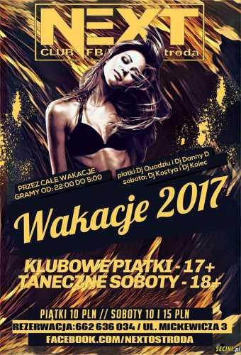 Next (Ostróda) - Otwarcie Wakacji (30.06.2017)