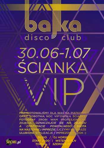 Bajka Disco Club (Toruń) - Dj Horse (30.06.2017)