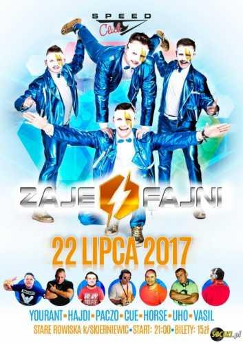 Speed Club - ZAJEFANI [Rain St.] 22.07.2017