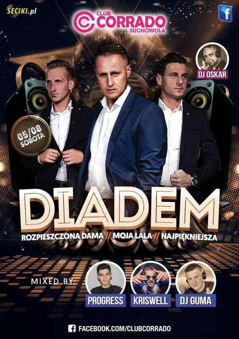 Corrado (Suchowola) - Zespół Diadem (5.08.17) - kluby, festiwale, plenery, klubowa muza, disco polo
