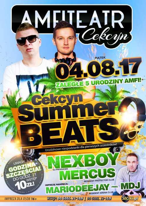 Amfiteatr (Cekcyn) -  Summer Beats (4.08.2017) - kluby, festiwale, plenery, klubowa muza, disco polo