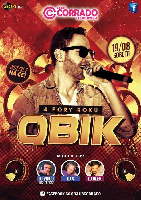 Corrado (Suchowola) - QBIK (19.08.2017) - kluby, festiwale, plenery, klubowa muza, disco polo