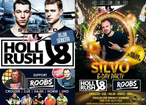 Speed Club - SILVO B-DAY PARTY [Rain Stage] 05.08.2017