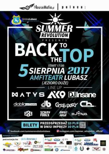 Summer Revolution (Lubasz) - BACK TO THE TOP (5.08.17)