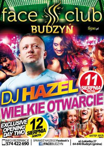 Face Club (Budzyń) - Dj Sopran (11.08.2017)
