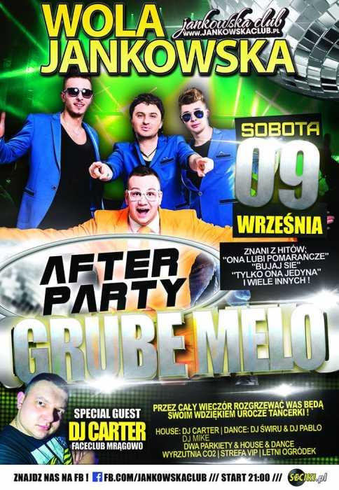 Jankowska Club (Wola Jankowska) Zespół After Party  (9.09.17) - kluby, festiwale, plenery, klubowa muza, disco polo