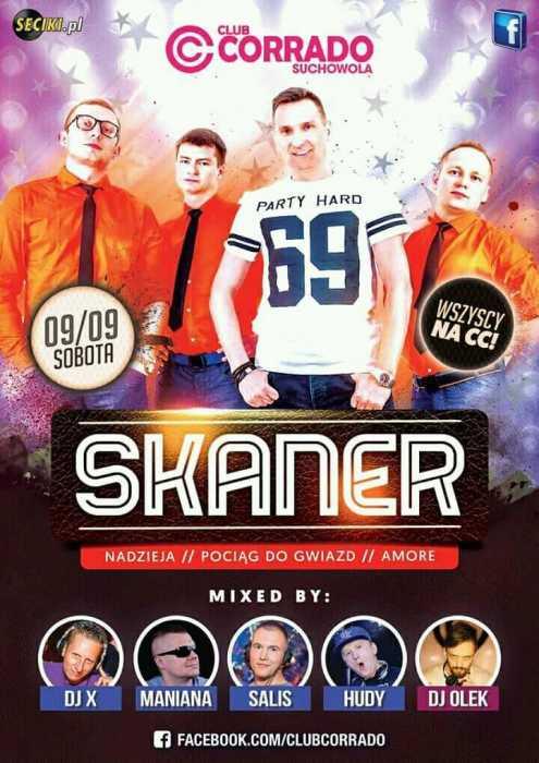 Corrado (Suchowola) - zespół Skaner (9.09.2017) - kluby, festiwale, plenery, klubowa muza, disco polo