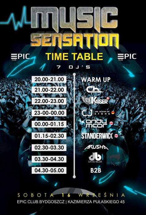 Klub EPIC (Bydgoszcz) - Music Sensation EPIC CLUB  (16.09.2017) - kluby, festiwale, plenery, klubowa muza, disco polo