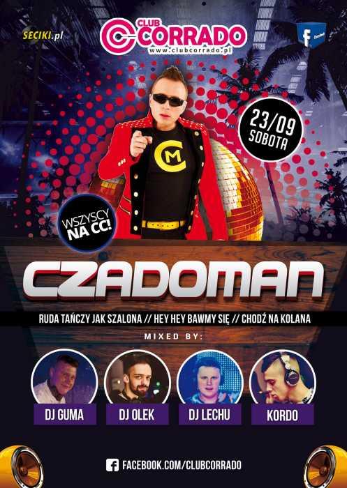 Corrado (Suchowola)  - KONCERT NA SALI DANCE CZADOMAN (23.09.2017) - kluby, festiwale, plenery, klubowa muza, disco polo