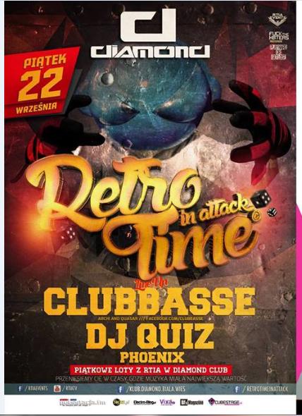 Klub Diamond (Biała Wieś) Dj Quiz/ Clubbasse/ Phoenix (22.09.17) - kluby, festiwale, plenery, klubowa muza, disco polo
