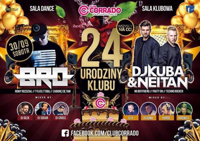 Corrado (Suchowola)  - 24 Urodziny CC  (30.09.2017) - kluby, festiwale, plenery, klubowa muza, disco polo