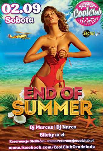 Cool Club (Grudziądz) - End Of Summer (02.09.2017)