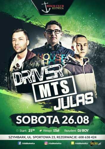 Disco Club Kotwica (Szymbark) - Julas (26.08.2017)