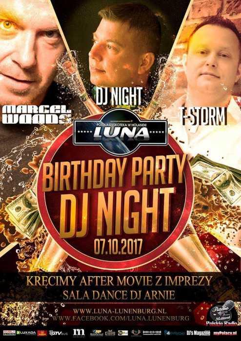 Luna (Lunenburg) - Birthday Party Dj Night (7.10.2017)