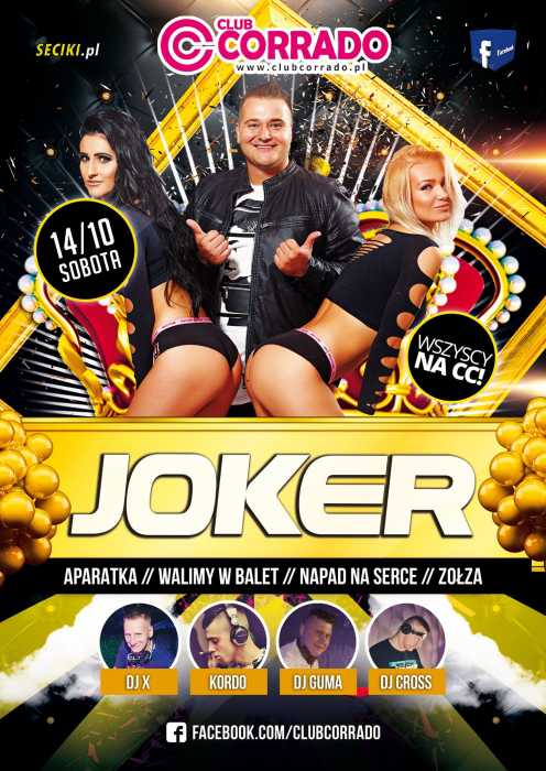 Corrado (Suchowola)  - Koncert Joker  (14.10.2017) - kluby, festiwale, plenery, klubowa muza, disco polo