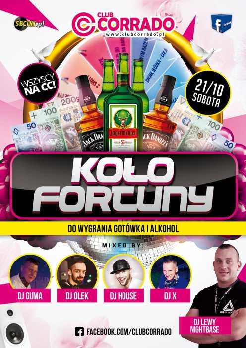 Corrado (Suchowola)  - KOŁO FORTUNY (21.10.2017) - kluby, festiwale, plenery, klubowa muza, disco polo