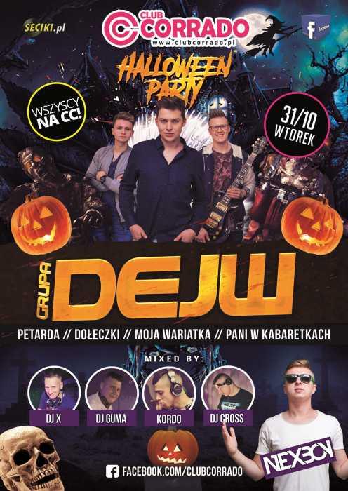 Corrado (Suchowola)  -  DEJW & Nexboy - Halloween  (31.10.2017) - kluby, festiwale, plenery, klubowa muza, disco polo