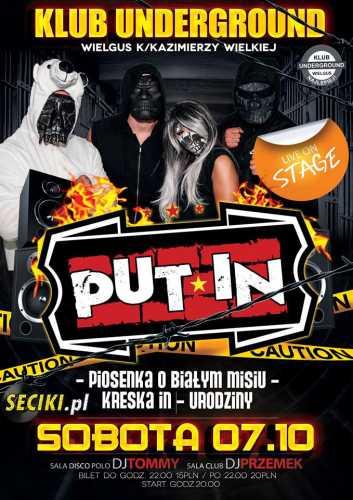 Klub Underground (Wielgus) - Put-In (7.10.2017)