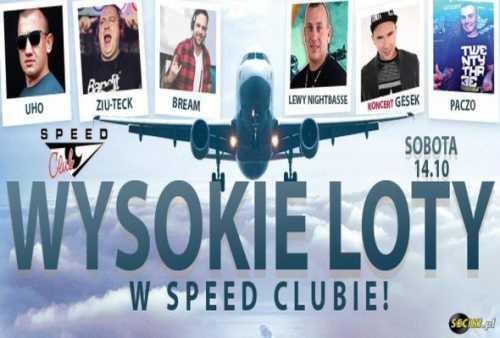Speed Club - WYSOKIE LOTY W SPEED CLUBIE (14.10.2017)