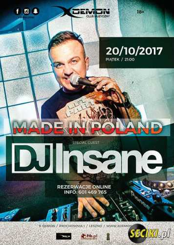 X-Demon (Leszno) - Dj Insane (20.10.2017)